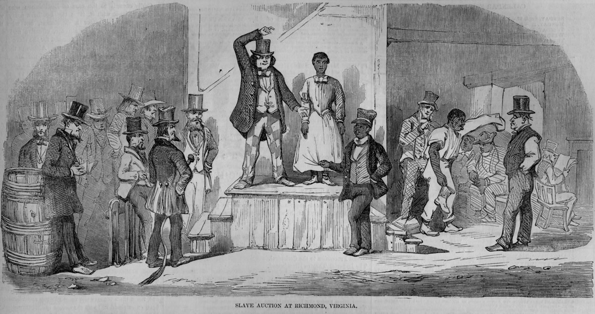 begining of slavery in virginia Christianity and black slavery  slavery has existed in virtually every society from the beginning of civilization to the  virginia, in 1619 until.