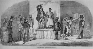 Slave Auction, Richmond, Virginia, 1850s_jpg