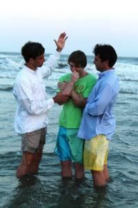 Roberts Baptism